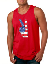 Men's Tank Top American Flag Hand 4th Of July Party Top - $14.94+