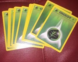 2000 Pokemon Green Energy Leaf Card 127/130 Near Mint Grass Base Set 2 C... - $3.96