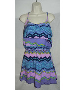 ROMEO & JULIET COUTURE WOMENS DRESS SMALL PURPLE MULTI NWD $140 SEE DETAILS - $14.52
