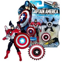 The First Avenger Marvel Year 2011 Captain America Deluxe Mission Pack C... - $49.99