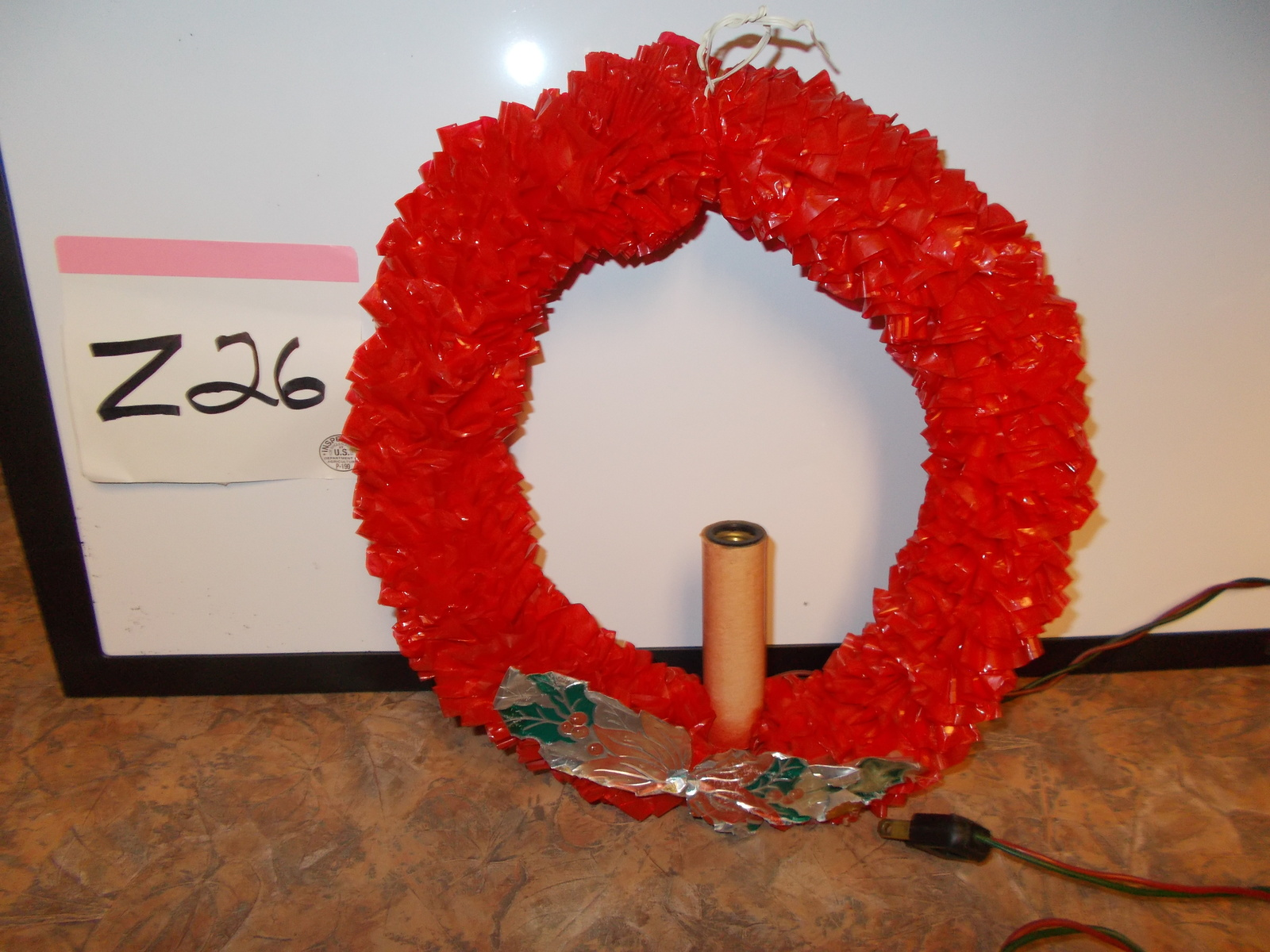 Primary image for Vintage Christmas Wreath 11""
