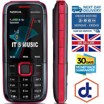 Brand New Nokia Xpress Music 5130  Red blue Unlocked Cellular Phone  - $41.60