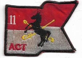US Army 11th act Air TRP Thunderhorse Vietnam Vintage Patch - $15.83