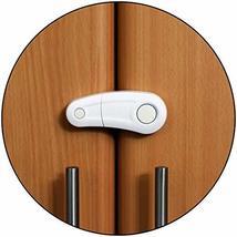 Safe-O-Kid- Pack of 1, Durable, Elegant Child Safety Cabinet Lock - White - $19.60