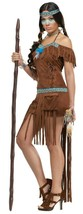 Fun World Medicine Damen Indianer Erwachsene Halloween Kostüm 123074 - $35.74
