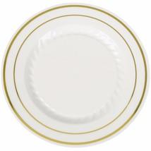 "10"" Premium Heavy Duty Plastic Dinner Plates Iv... - $133.80"