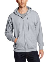 Hanes Mens Full Zip EcoSmart Fleece Hoodie Athletic Sweatshirt Jacket So... - $25.00