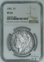 1901 Proof  Morgan Dollar NGC PF-53; Mintage 813 - $1,682.99