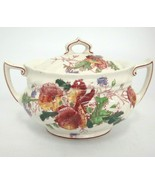 Vintage Royal Doulton Sherborne Sugar Bowl with Lid  Scalloped Very Good... - $20.78