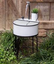 Country Outdoor Garden Sink Fountain  - $189.99