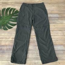 Marmot Mens Convertible Pants Size 32 Gray Nylon Blend Straight Leg Solid - $36.62