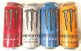 Monster Energy Drink Zero Ultra Variety 8 Pack - $31.67