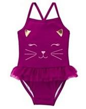 Gymboree Girls Tails of the City Cat Swim Bathing Suit 2T 4T NWT - $19.00