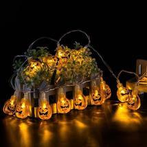 10 LED Hanging Halloween Decor Pumpkins/Ghost/Spider/Skull LED String Li... - €7,41 EUR+