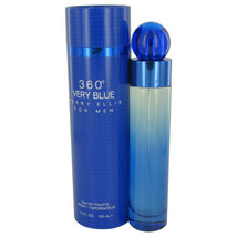 Perry Ellis 360 Very Blue Eau De Toilette Spray 3.4 Oz For Men  - $37.36