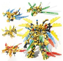 LEGO Ninjago  Gold Dragon Robot Figure 4 in 1  - $40.00