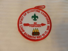 Camp Rainbow Three Fires Council Spirit of Scouting Camporee 1998 Pocket... - $14.84