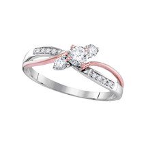 3/8CTW-DIA 1/4CT-CRD BRIDAL RING - £616.42 GBP