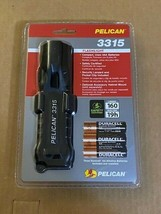 Black  Pelican 3315 LED Flashlight.-Brand New