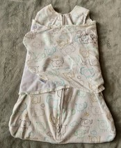 Halo Baby Swaddle SLEEP SACK Newborn NB 0-3 mo Cotton Elephant Wearable ... - $11.87