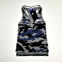 Nike Girls Racerback Tank Top Size Small Camouflage Multicolor D216 - $15.34
