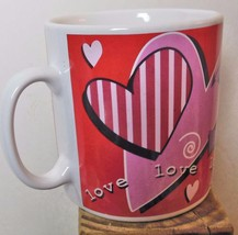 "Really Big Love Mug 4.5 x 4"" Plus Handle Russ - $15.00"
