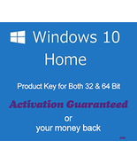 Windows 10 Home 32/64 Bit Product Key with Download - $6.80