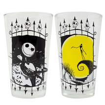 Nightmare Before Christmas Jack 2-Piece Pub Pint Glass Set Clear - $30.98