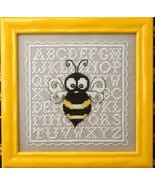 Biggie Bee chart w/embellishments cross stitch chart The Bee Cottage  - $9.90