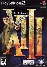 XIII (Sony PlayStation 2, 2003) M - $6.01