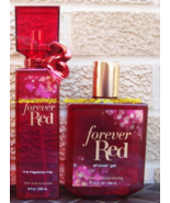Forever Red Bath and Body Works Fine Fragrance Mist Body Spray Shower Gel - $44.00
