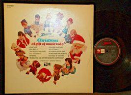 3 Christmas Records-The 12 Days of Christmas, A Christmas a Gift of Music Vol 3 image 7