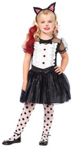 Toddler 3T-4T Tuxedo Kitty Halloween Costume by Leg Avenue™ - $24.70