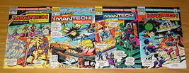 ManTech: Robot Warriors #1-4 VF/NM complete series DICK AYERS archie com... - $17.99