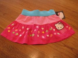 Girls Hello Kitty Summer Fun HK56320 MLT skort 4 NWT^^ - $8.16