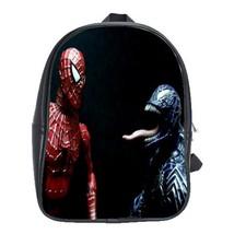 Backpack School Bag Limited Editions Spiderman Venom Marvel Heroes Movie Monster - $33.00
