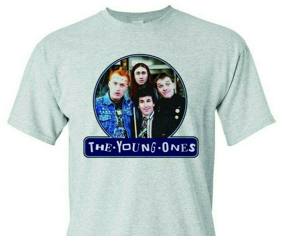 The Young Ones T-shirt retro 80s comedy British TV 100% cotton graphic tee