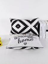 Modern Geometric Throw Pillow Covers, geometric pillow, throw pillow geo... - $19.79