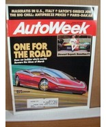 AutoWeek Magazine January 30 1989 Jackie Stewart Report - $7.19