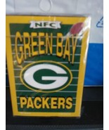 NFL Licensed NFC Green Bay Packers Playing Cards Factory Sealed vintage ... - $9.46