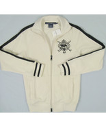 NEW Polo Ralph Lauren Sport Womens Dual Match Player Athletic Sweat Jacket! - $59.99