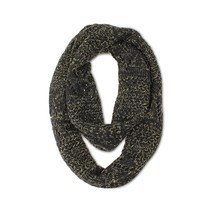 Cat & Jack Infinity Scarf Girls Black One Size - $9.14 CAD