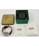 MI) Fossil PR-5166 Men 100m Brown Genuine Leather Strap Analog Quartz Watch - $49.49