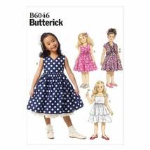 Butterick Patterns B6046 Children's/Girls' Shrug and Dress Sewing Template, Size - $17.81