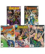 DC Hawkman Lot #13-17 Carter Hall Hawkwoman Gentleman Ghost Action Adven... - $12.50