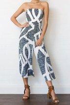 Digital Printing Chiffon Sexy Print Jumpsuits - $30.95