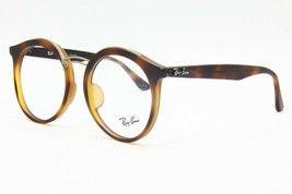 RAY-BAN RB 7110F 5200 TORTOISE EYEGLASSES FRAME AUTHENTIC RX RB7110F 52-20 - $56.57