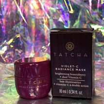 Tatcha Violet C Radiance Mask Travel 10mL Beautyberry Dual Vitamin C Potent!
