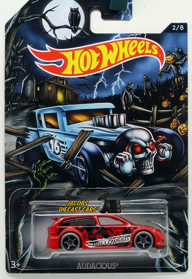 1:64 HOT WHEELS HALLOWEEN 2016 CARS - AUDACIOUS #2 of 8 for sale  USA