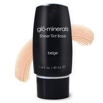 Glo Minerals gloMinerals gloSheer Beige Tint Base - 1.4 oz / 40 ml - New - $20.97